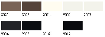 Select Floor Paint Colours to RAL Standard