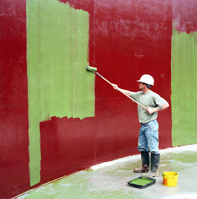 Epoxy Wall Coating Painting