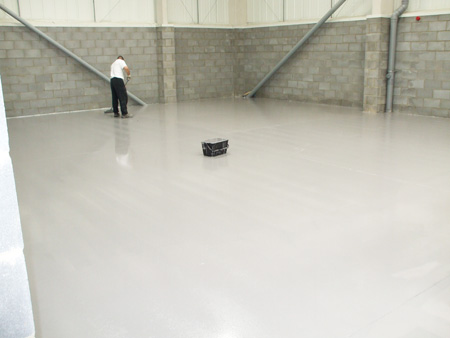 Solvent Based Epoxy Resin Floor Paints For Factory Floors