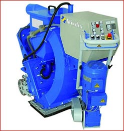 Many different blastcleaning machines are available